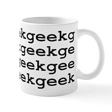 Geek Geek Geek Mug