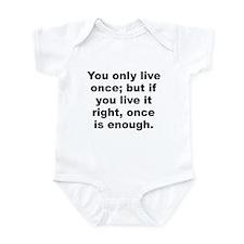 Unique Quotable quotes Infant Bodysuit