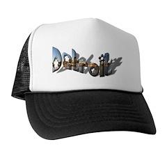 DETROIT COLORFUL Trucker Hat