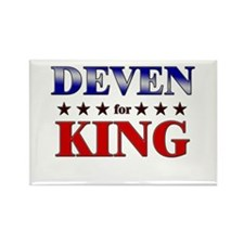 DEVEN for king Rectangle Magnet