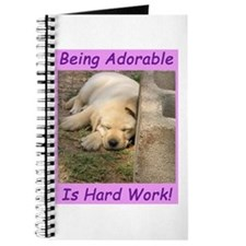 Being Adorable Is Hard Work Journal