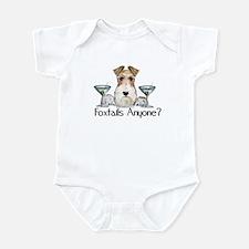 Wire Fox Terrier Pary Infant Bodysuit