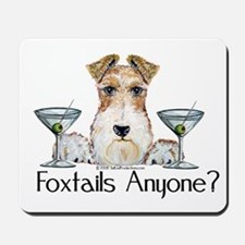 Wire Fox Terrier Pary Mousepad
