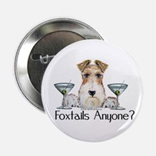"""Wire Fox Terrier Pary 2.25"""" Button"""