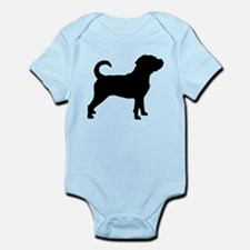 Puggle Dog Infant Bodysuit