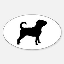 Puggle Dog Decal