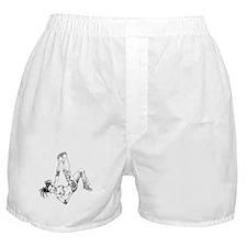 BGirl Elbow Freeze Boxer Shorts