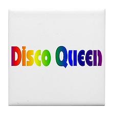 Disco Queen Retro Tile Coaster