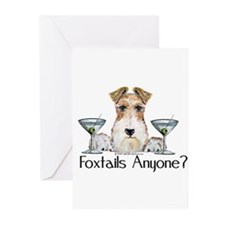 Wire Fox Terrier Pary Greeting Cards (Pk of 20)