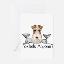 Wire Fox Terrier Pary Greeting Cards (Pk of 10)
