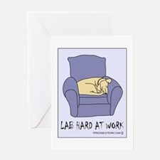 Labrador Gifts Greeting Card