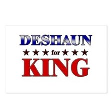 DESHAUN for king Postcards (Package of 8)