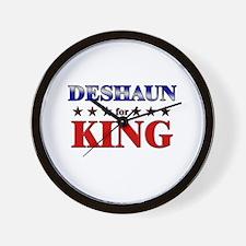 DESHAUN for king Wall Clock