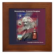 Framed Tile - Fredrick Douglass