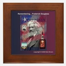 Framed Tile - Fredrick Douglass