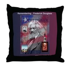 Throw Pillow - Fredrick Douglass