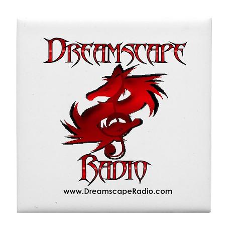 Dreamscape Radio Tile Coaster