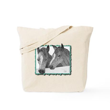 """""""Horses"""" Tote Bag"""