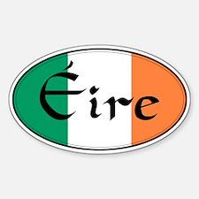 Eire (Ireland) Oval Bumper Stickers