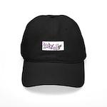 DETROIT PINK LETTERING Black Cap