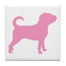 Puggle Dog Tile Coaster