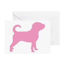 Puggle Dog Greeting Cards (Pk of 10)