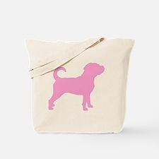 Puggle Dog Tote Bag