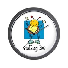 Quilting Bee Wall Clock