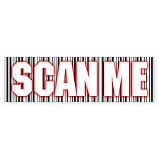 Scan Me Bumper Bumper Sticker