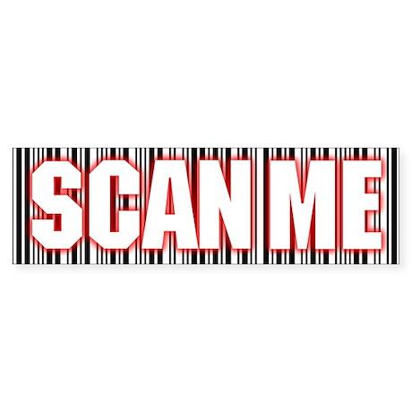 Scan Me Bumper Sticker