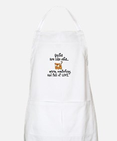 Quilts Are Like Cats BBQ Apron