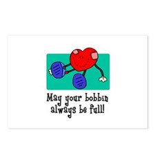 May Your Bobbin Be Full - Sew Postcards (Package o