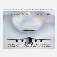 C-17 Globemaster Wall Calendar