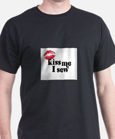 Kiss Me I Sew T-Shirt