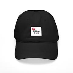 Kiss Me I Sew Baseball Hat