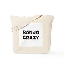Banjo crazy Tote Bag