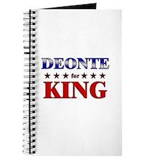 DEONTE for king Journal