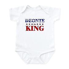 DEONTE for king Infant Bodysuit