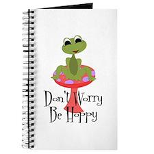 Don't Worry Be Hoppy Journal