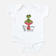 Don't Worry Be Hoppy Infant Bodysuit