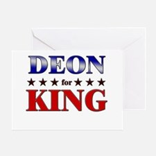 DEON for king Greeting Card