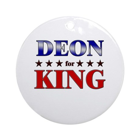DEON for king Ornament (Round)