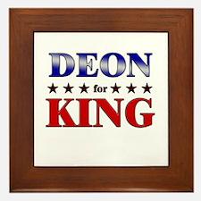 DEON for king Framed Tile