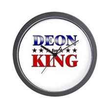 DEON for king Wall Clock