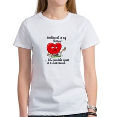 Needlepoint and Chocolate Women's T-Shirt