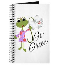 Go Green Frog Journal