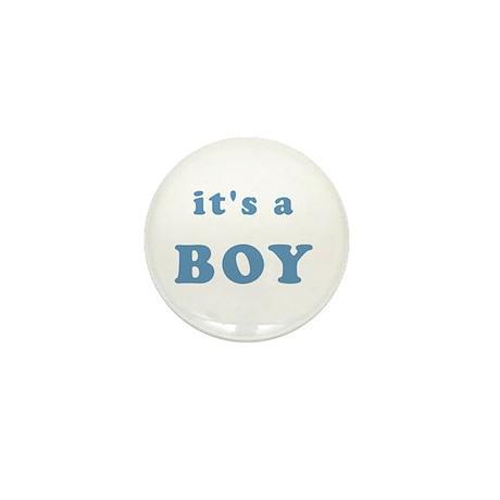"""""""It's a Boy"""" Mini Button"""