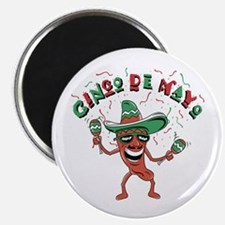 "Cinco de Mayo Chili Pepper 2.25"" Magnet (10 pack)"
