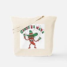 Cinco de Mayo Chili Pepper Tote Bag