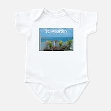 St. Maarten Seascape-1 Infant Bodysuit